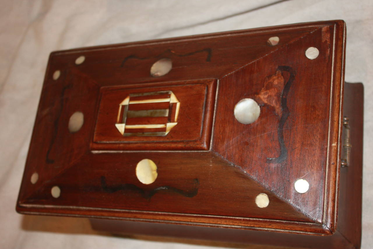 19th Century French Jewelry Box For Sale 2