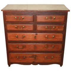 19th Century Rustic French Chest