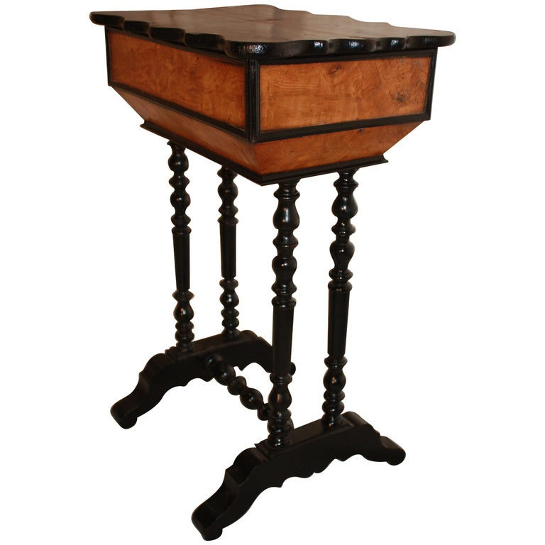 Charming 19th Century French Side Table For Sale