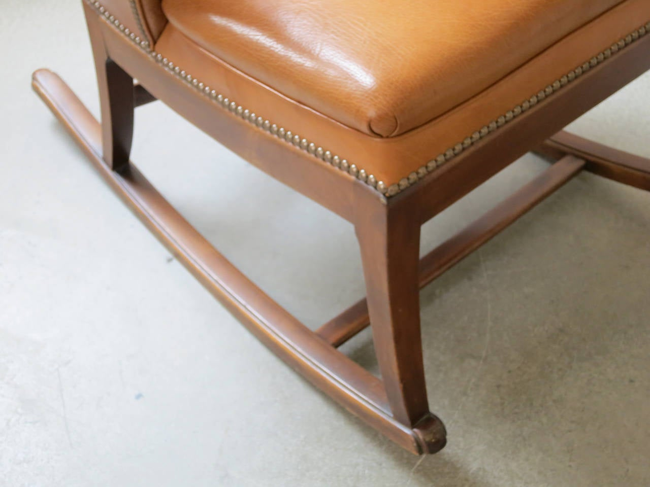 Mid-20th Century 1930s Rocking Chair by Frits Henningsen For Sale