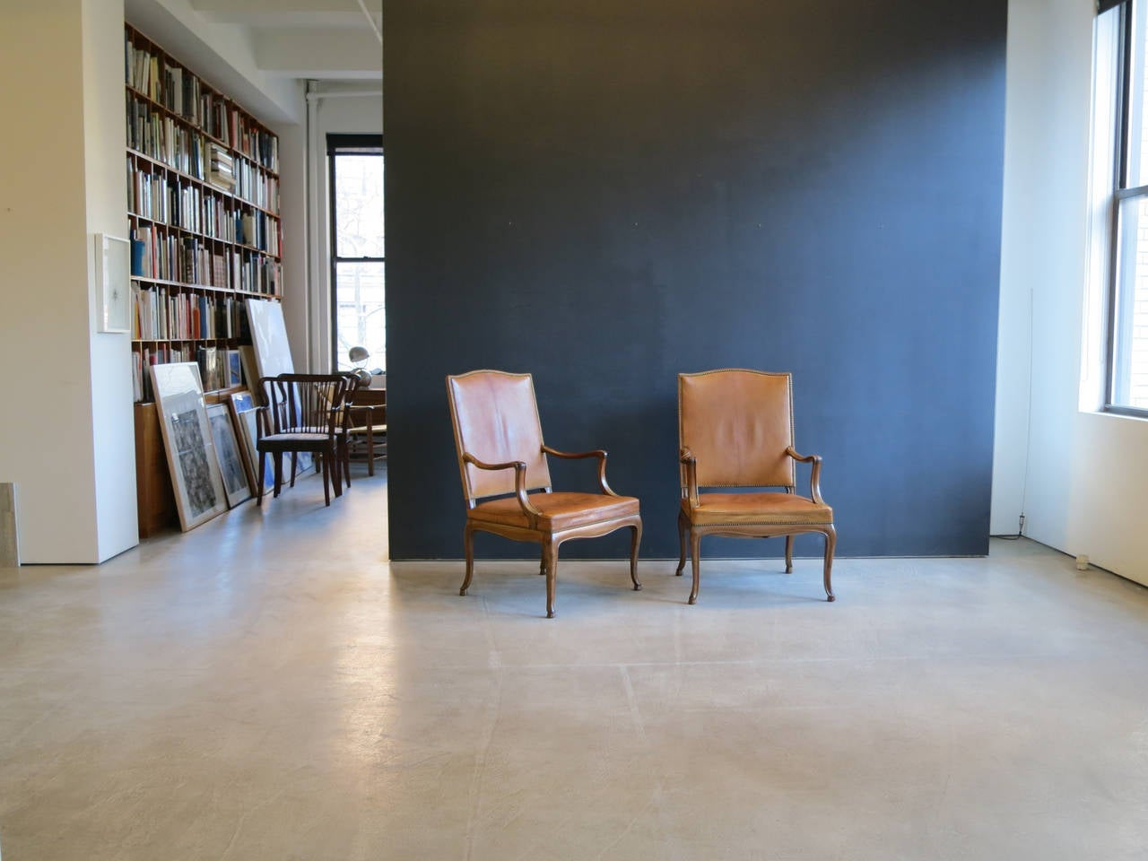 Frits Henningsen Four Large 1930s Armchairs in Danish Rococo Style For Sale 3