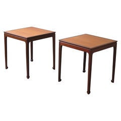 Pair of Elegant Side Tables by Ole Wanscher