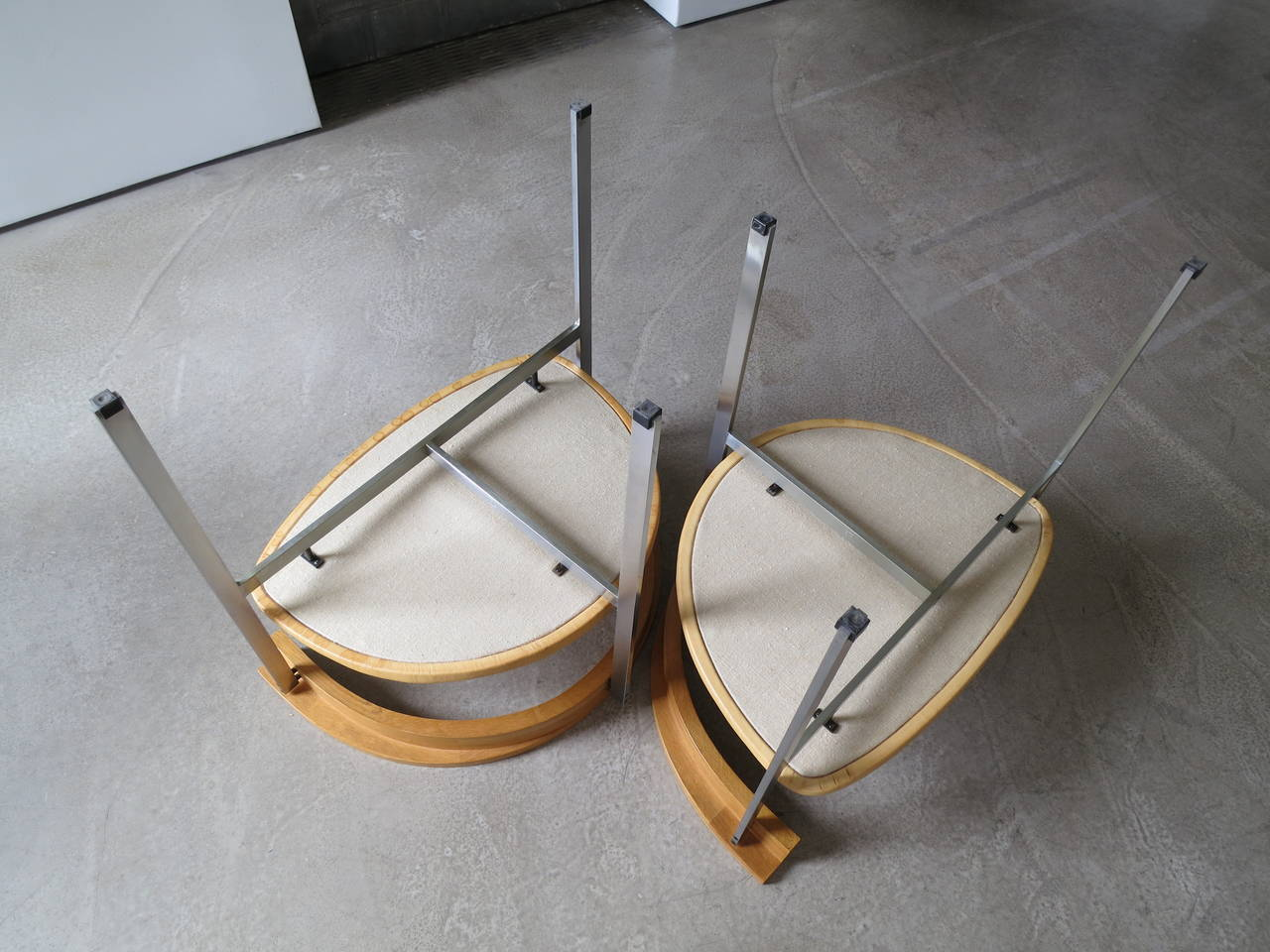Pair of PK-11 Armchairs by Poul Kjærholm, made by E. Kold Christensen For Sale 1