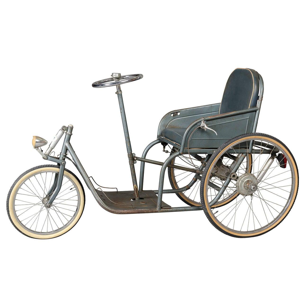 Three-Wheeler Invalid Carriage, circa 1929