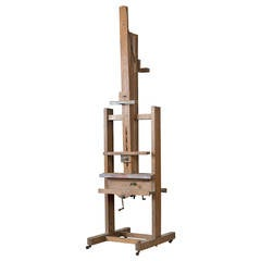 Large End 19th Century Double-Sided Workshop Easel