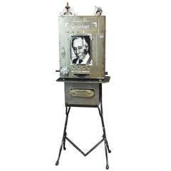 'Monsieur Leo,' 1994 Slot Machine Sculpture by GilbertPeyre