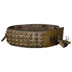 Mastiff Dog Necklace Collier Late 19th Century
