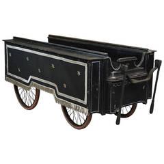 19th Century Handcart Hearse