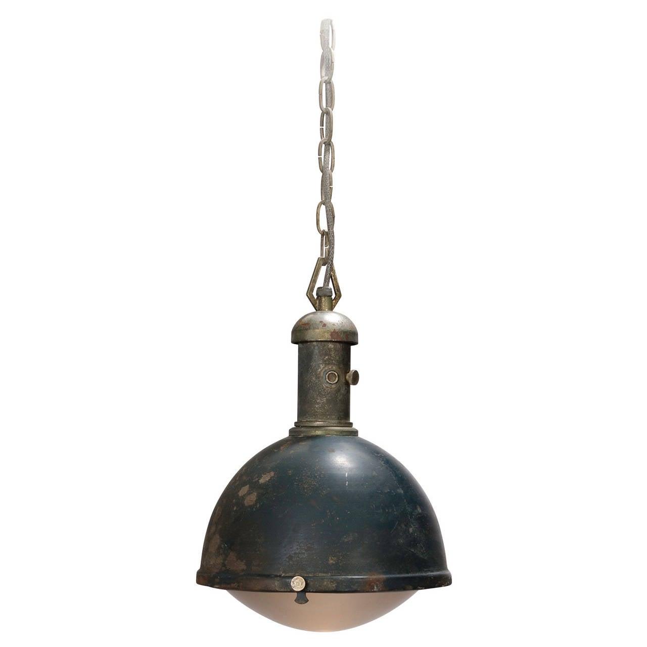 1930s Workshop Suspension Light At 1stdibs