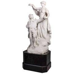 Original Plaster Cast from a War Memorial by Félix Charpentier