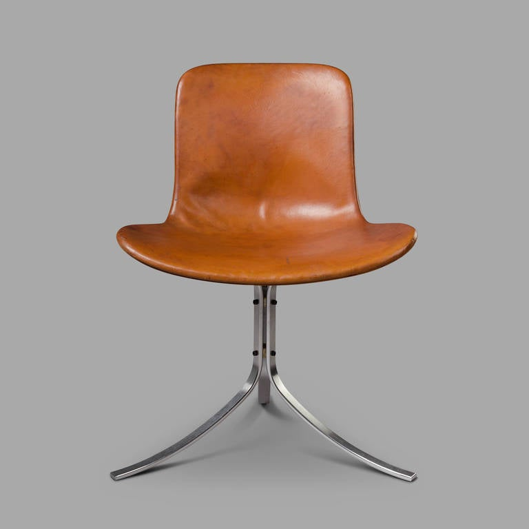 Poul Kjaerholm Pk9 Chair Rare 1960 39 S Original Edition At