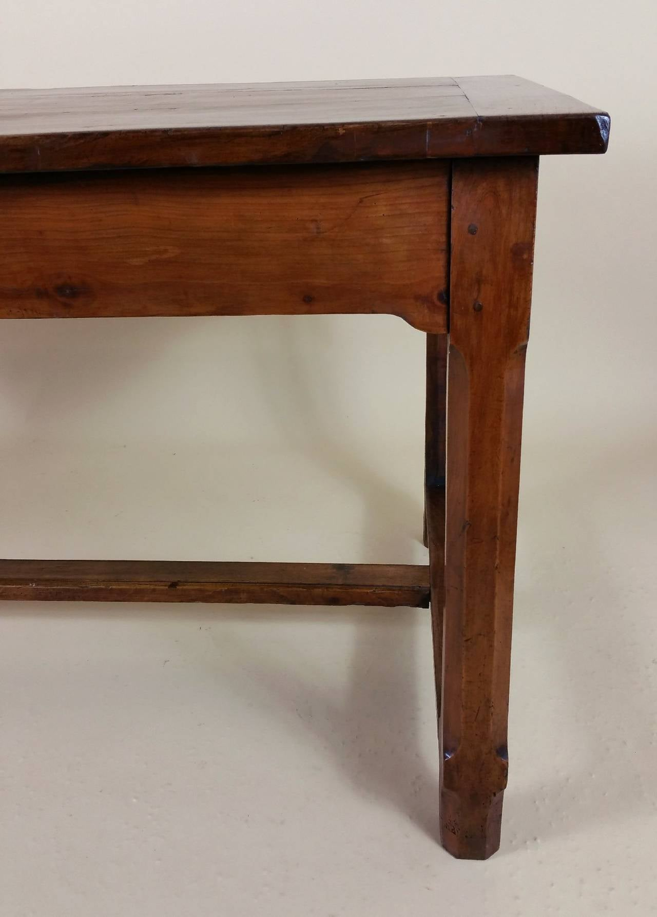 Early 19th Century French Cherrywood Farm House Table 2