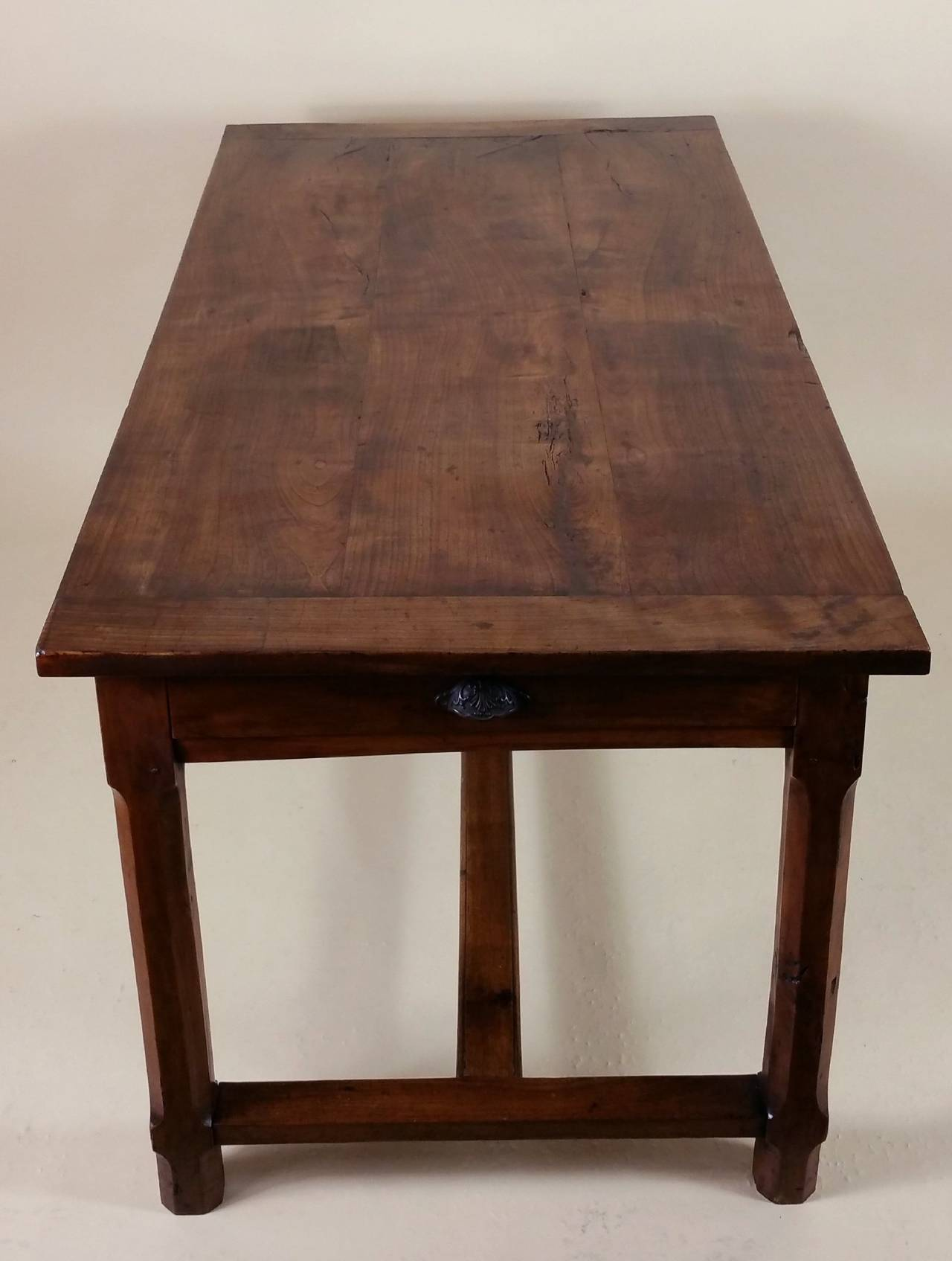 Early 19th Century French Cherrywood Farm House Table 6