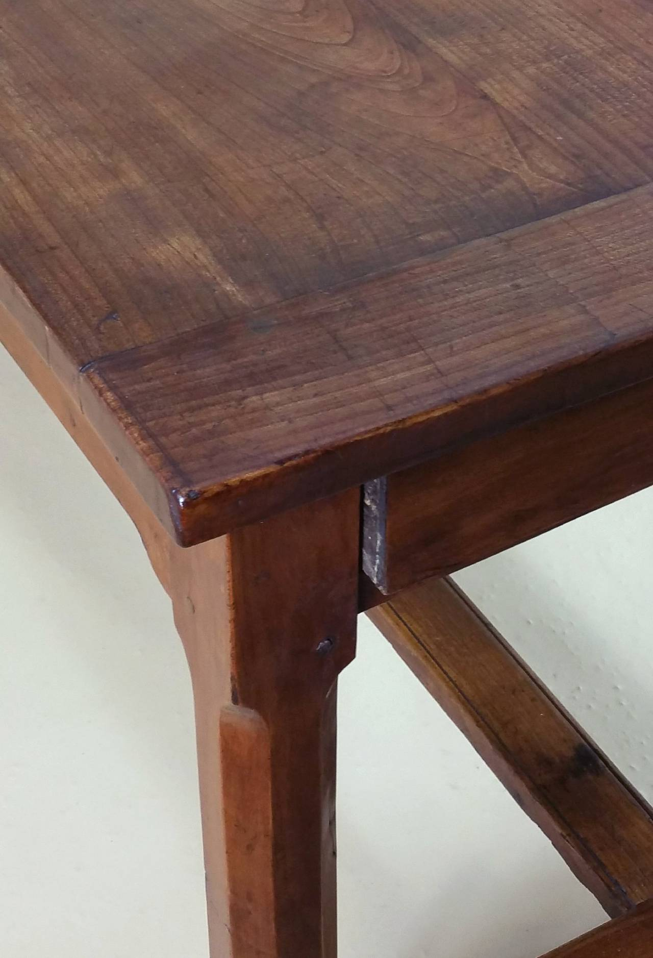 Early 19th Century French Cherrywood Farm House Table 9