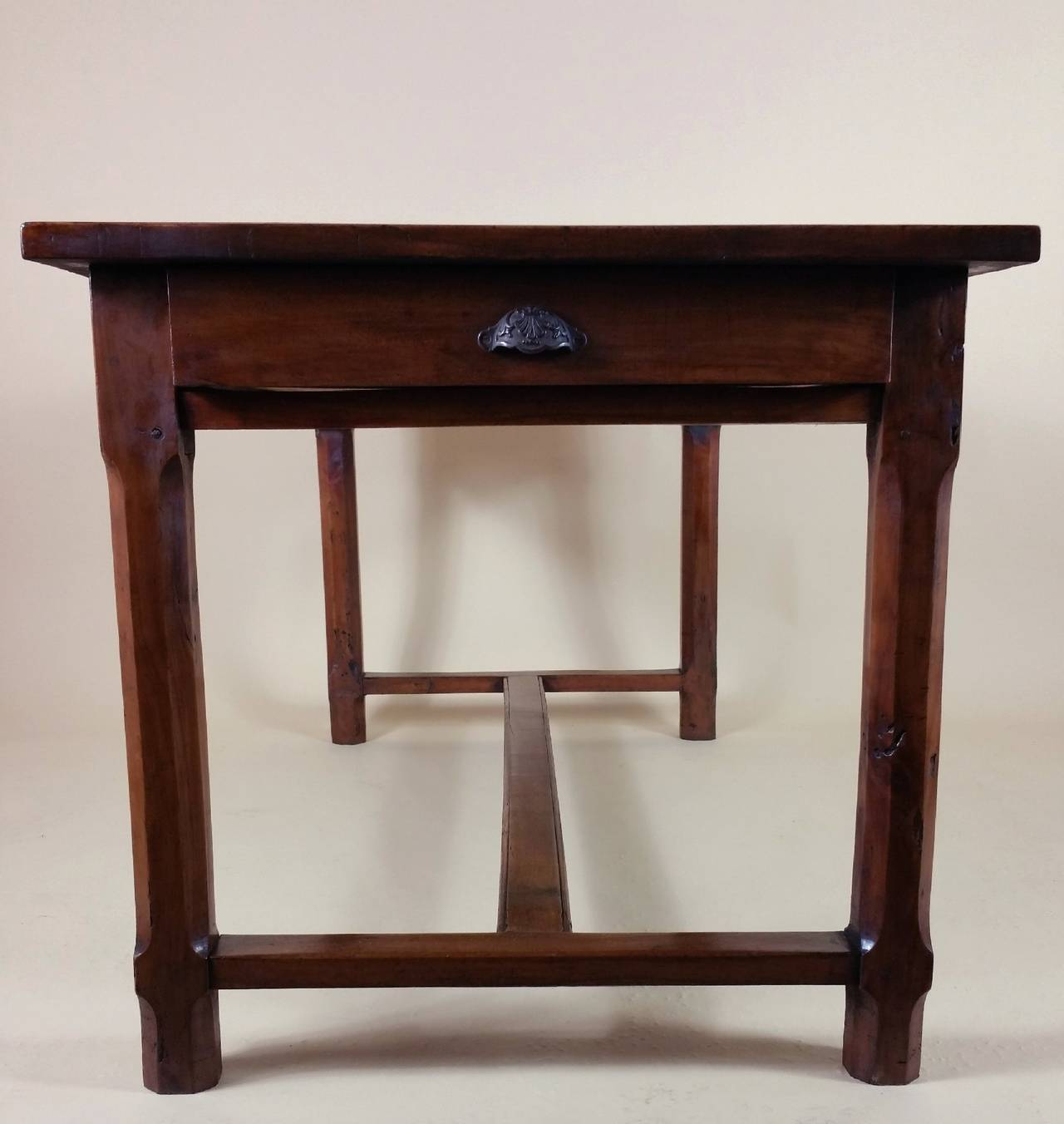 Early 19th Century French Cherrywood Farm House Table 10