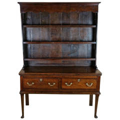 Superb Mid-18th Century Oak Cottage Dresser