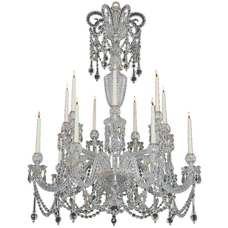 Highly Important MidVictorian Chandelier Attributed to FC Osler – Victorian Chandelier