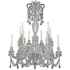 Highly Important Mid-Victorian Chandelier Attributed to F&C Osler