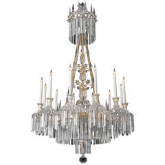 Highly Important Extremely Rare, English William IV Antique Chandelier