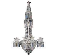 William IV Chandelier Attributed to F&C Osler