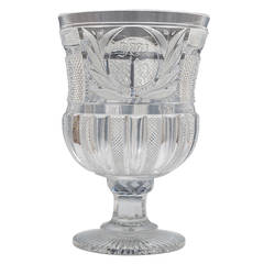 Exceptionally Large Regency Goblet by John Blades