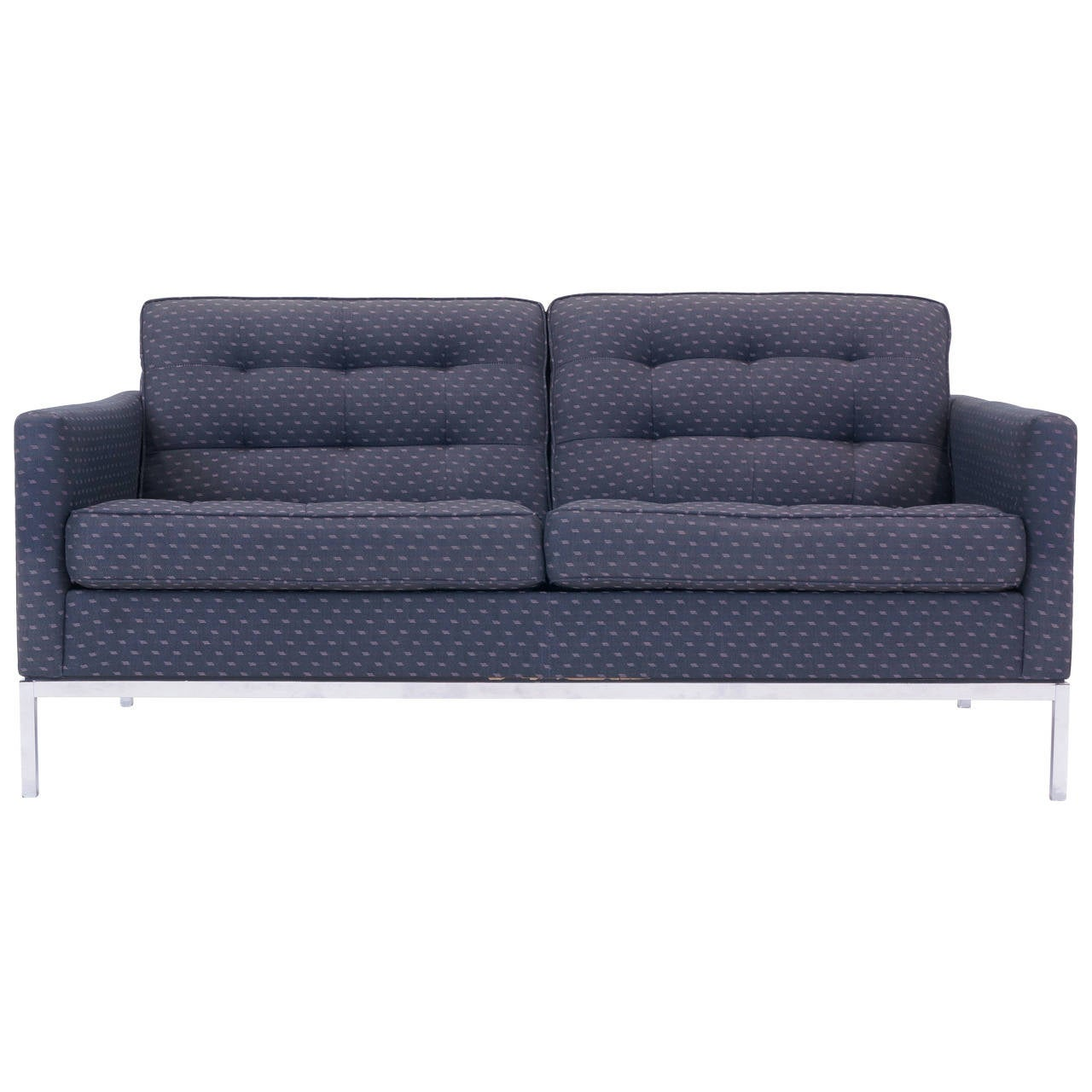 Florence Knoll Settee Or Loveseat For Sale At 1stdibs