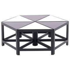 Harvey Probber Attribution Set of Six Modular Tables