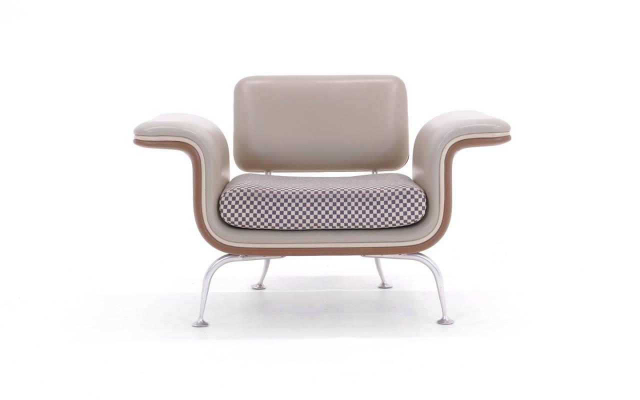American Rare Alexander Girard for Herman Miller Sofa and Chair, All Original For Sale