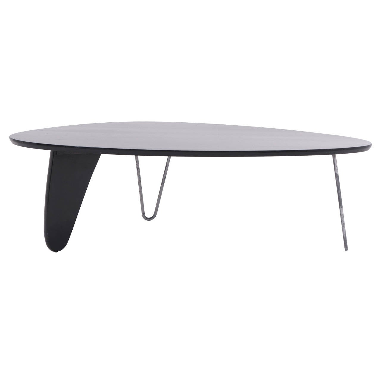 Very Rare Isamu Noguchi Rudder Coffee Table Model In 52 Herman Miller 1944 For Sale At 1stdibs
