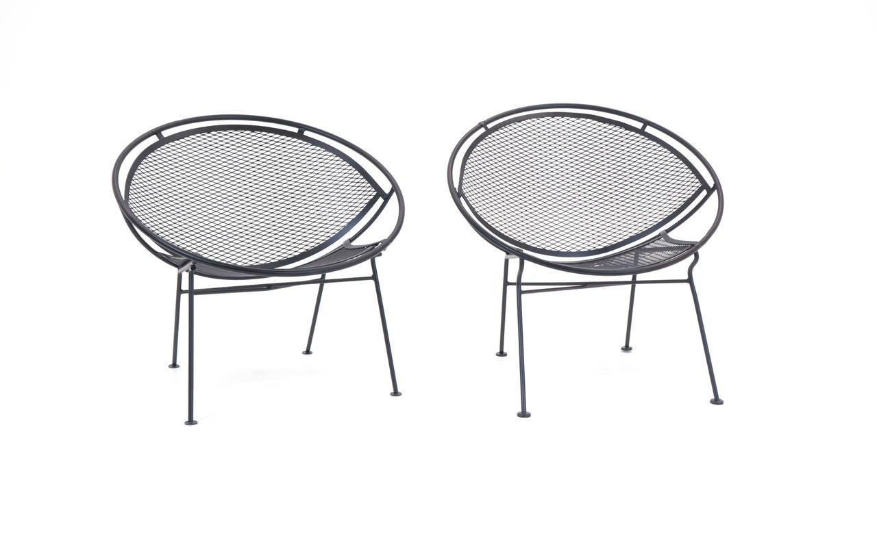 John Salterini Outdoor Patio Lounge Chairs 1965 at 1stdibs