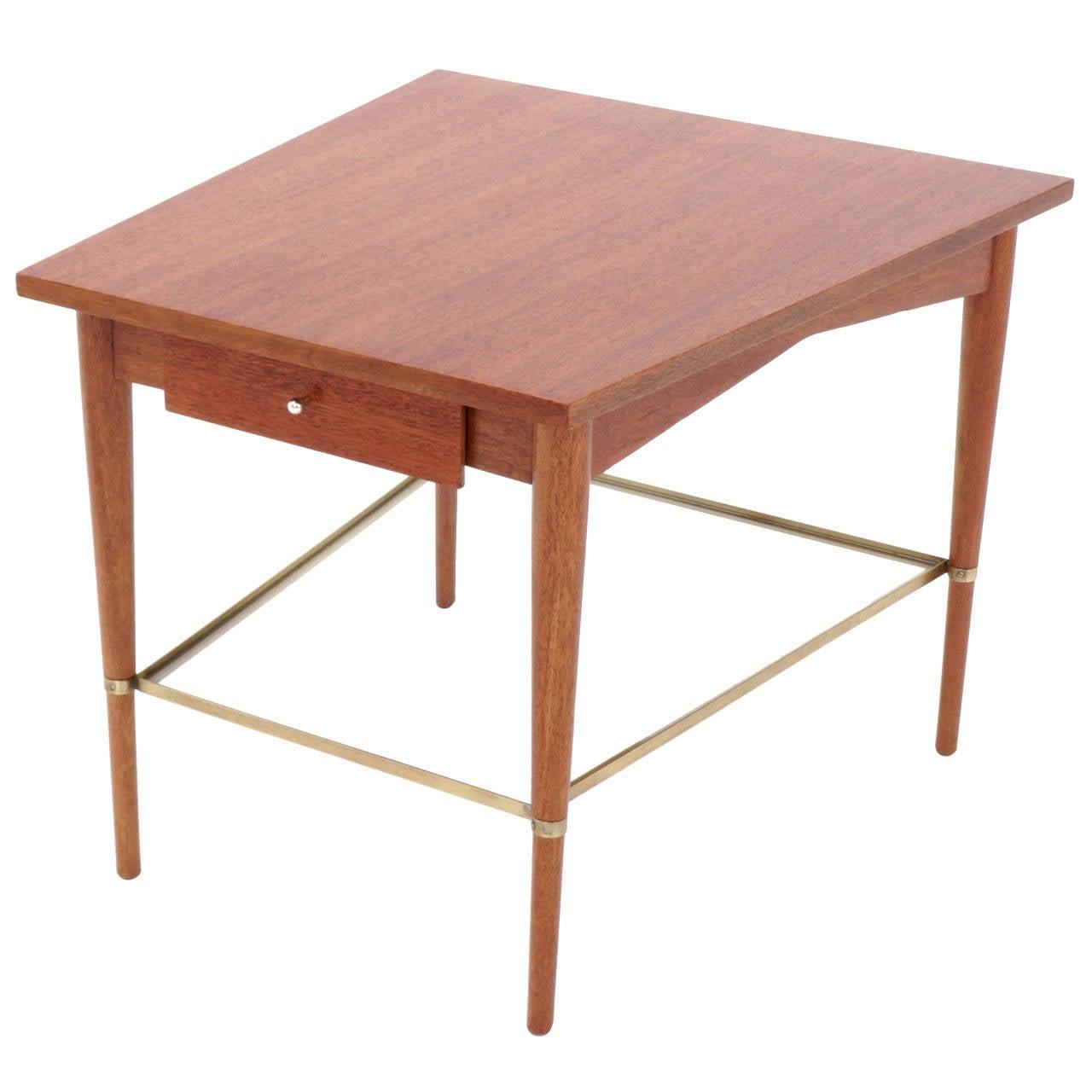 Rare Paul McCobb Trapezoidal Side or End Table.