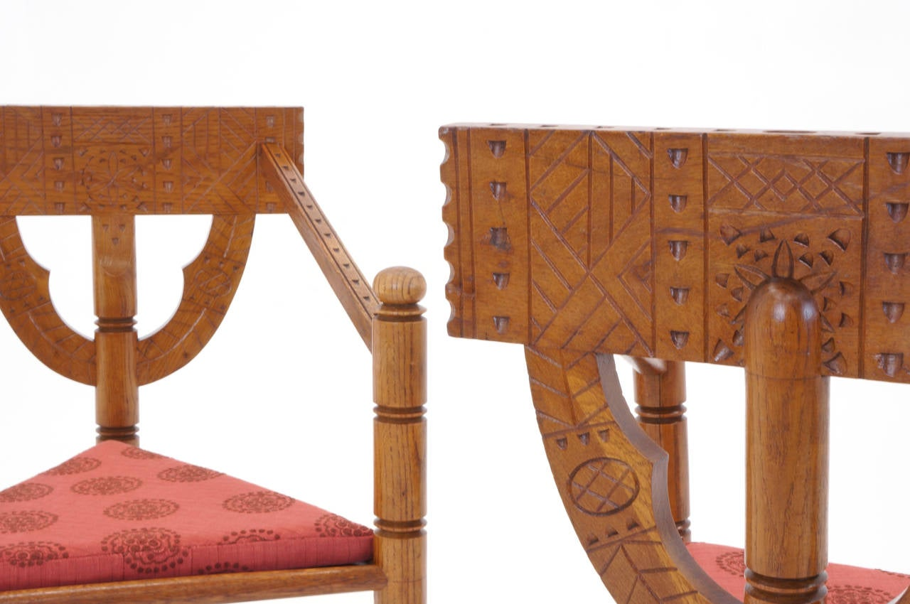 Pair of 1950s Swedish Chairs For Sale 3