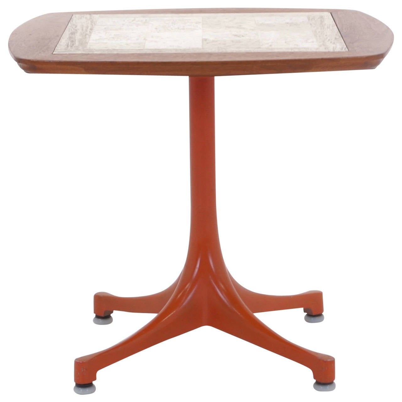 Rare Early Original George Nelson Swag Leg Side Table