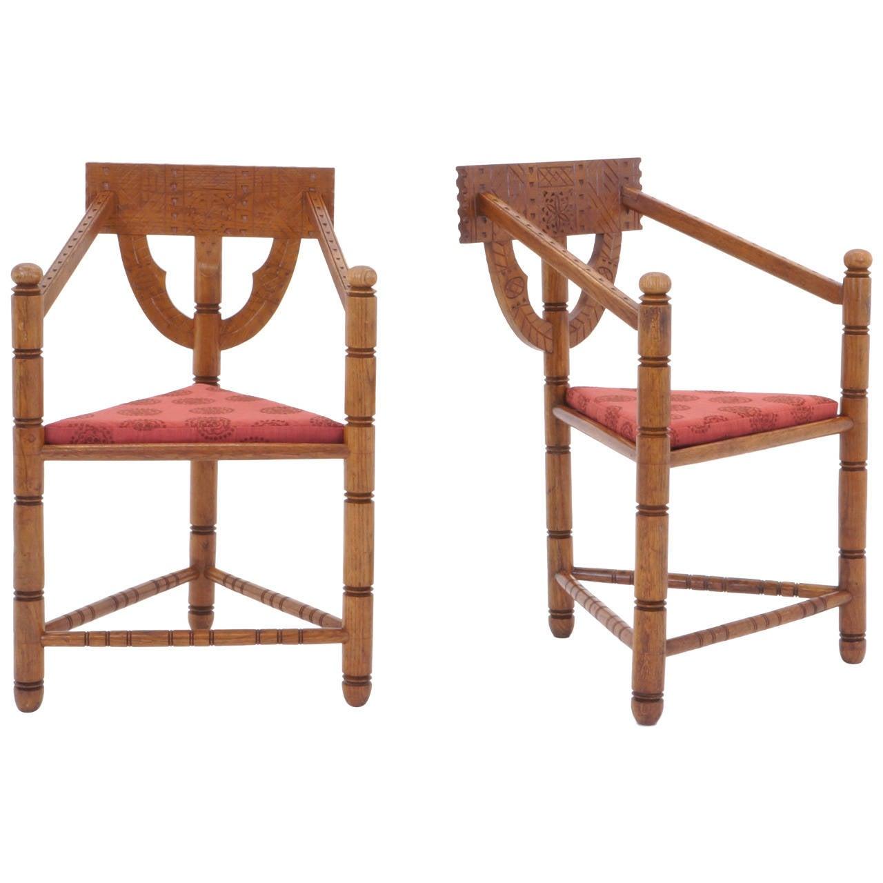 Pair of 1950s Swedish Chairs