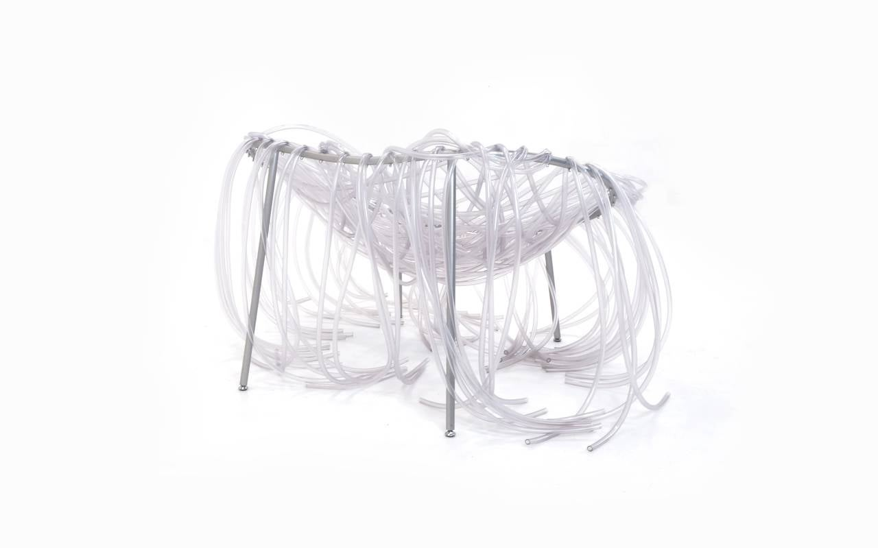 Powder-Coated Fernando and Humberto Campana (Campana Brothers) Anemone Chair For Sale