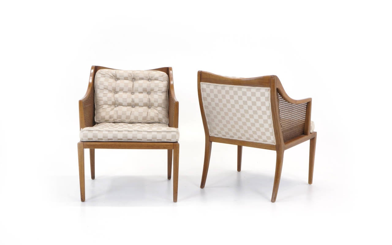 American Pair of T. H. Robsjohn Gibbings for Widdicomb Arm Chairs For Sale