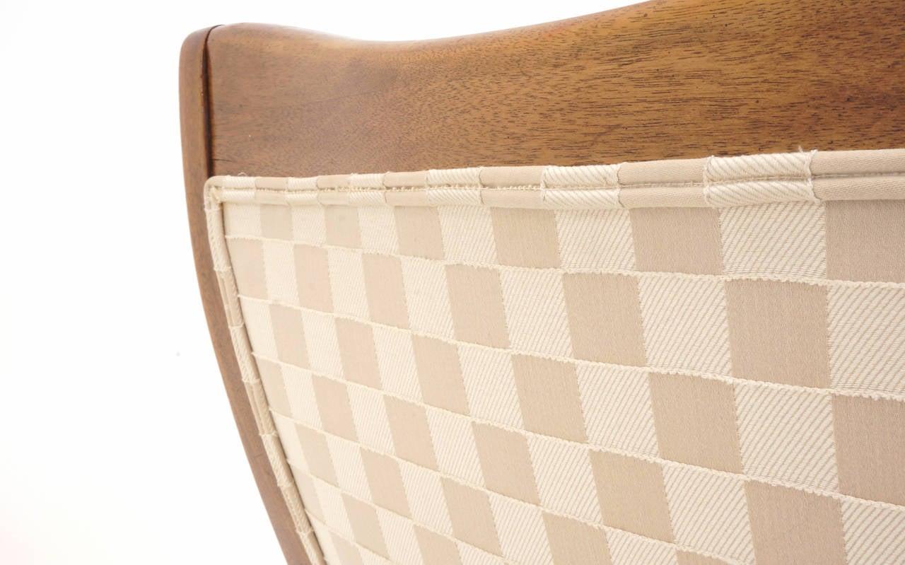 Pair of T. H. Robsjohn Gibbings for Widdicomb Arm Chairs For Sale 1