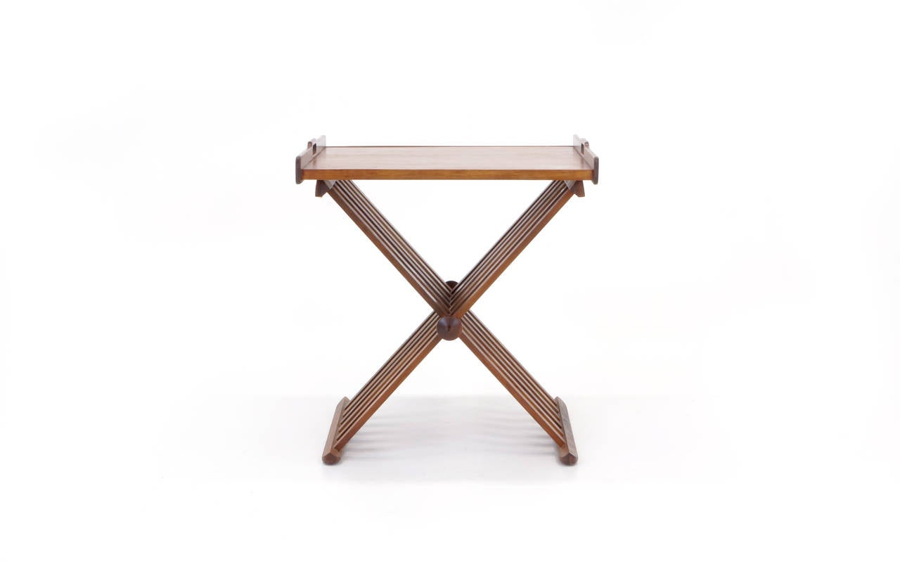 Drexel Folding Tray Table Or Serving Table At 1stdibs