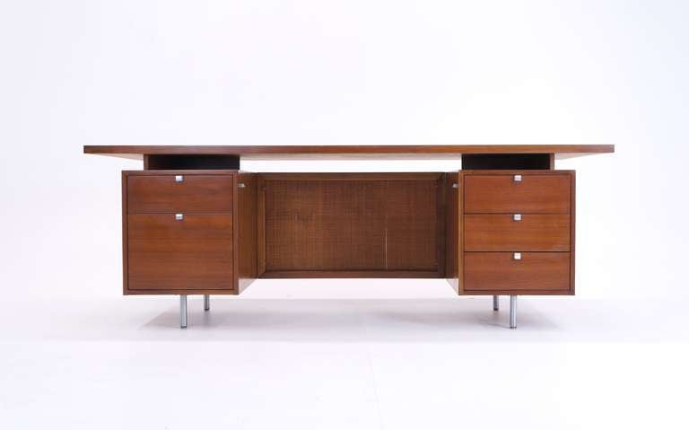George Nelson For Herman Miller Executive Desk At 1stdibs