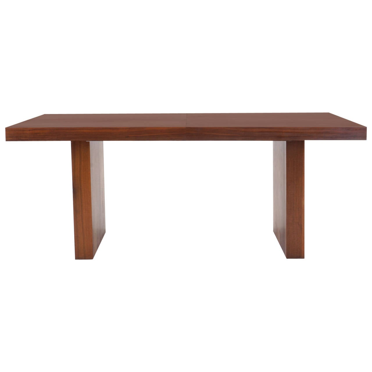 Milo Baughman Dining Table Extends To 9 Feet At 1stdibs