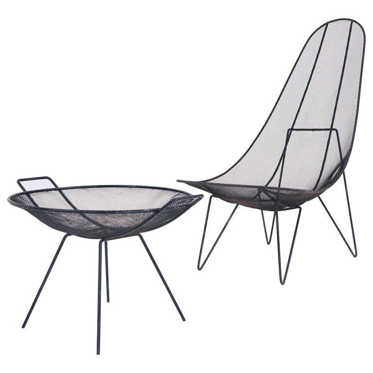 Sol Bloom Scoop Chair And Catch All For Sale