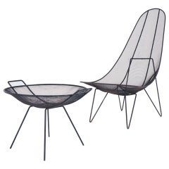 Sol Bloom Scoop Chair and Catch-All