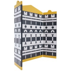 Folding Screen Designed by Alessandro Mendini and Alessandro Guerriero