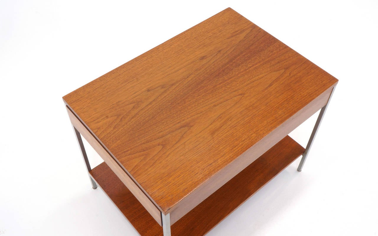 George Nelson for Herman Miller Side Table with Drawer In Good Condition For Sale In Kansas City, MO
