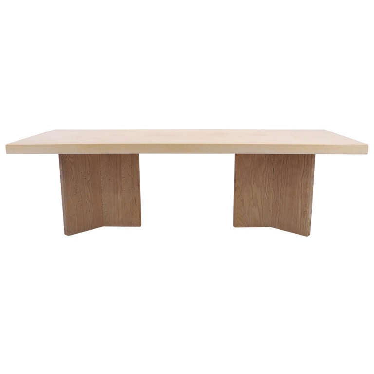 Paul Frankl For Johnson Furniture Company Cork Top Dining