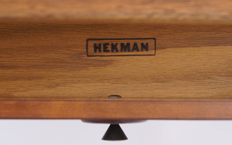 This Pair Of Hekman Tables Can Be Used As Side Table Or Night Stands.  Beautifully