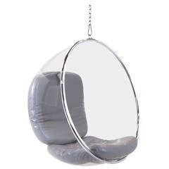 Original Eero Aarnio Bubble Chair, Adelta, Finland