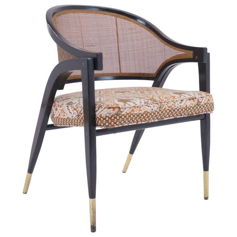 Edward wormley for dunbar arm chair at 1stdibs - Edward wormley chairs ...