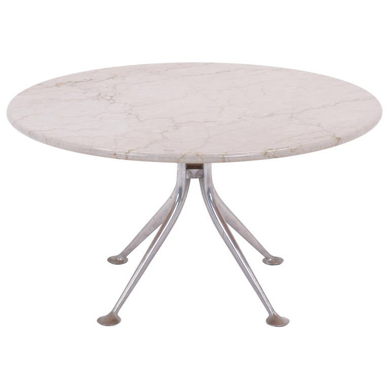 Alexander Girard Marble Top Coffee or Side Table