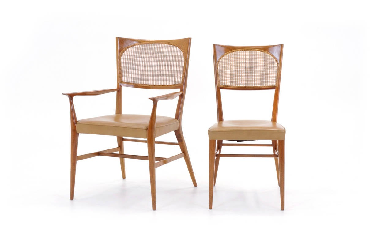 Rare Set Of Six Paul McCobb Dining Chairs From The New England Collection Fo